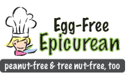 Egg-Free Epicurean logo